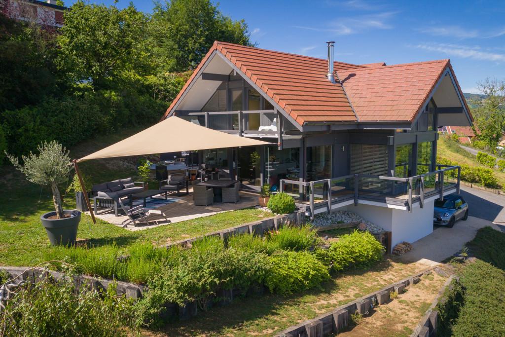 Magnifique maison ossature bois