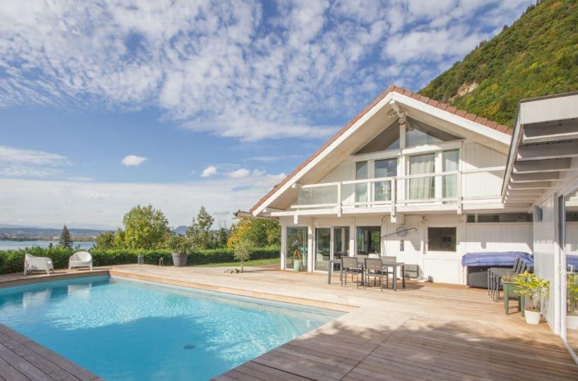 Maison ossature bois Veyrier du Lac Annecy