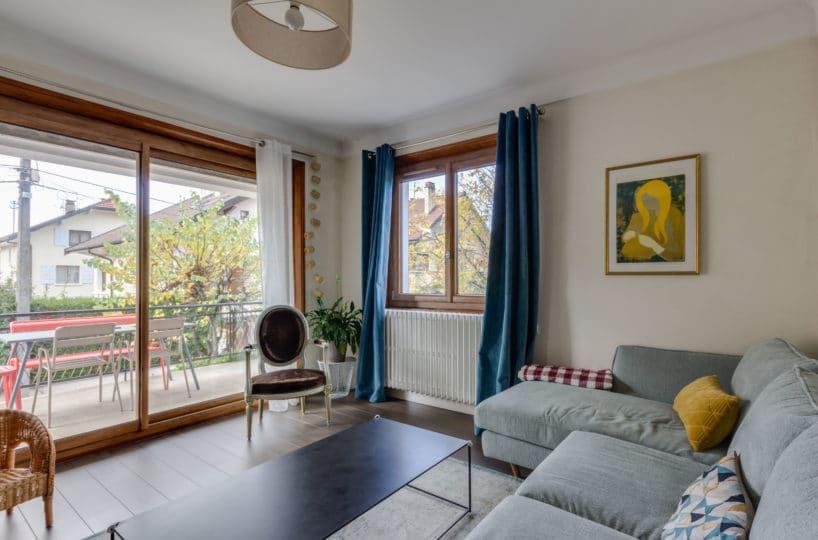 Annecy - Appartement 4 Pièces De Qualité Avec Beaucoup De Charme