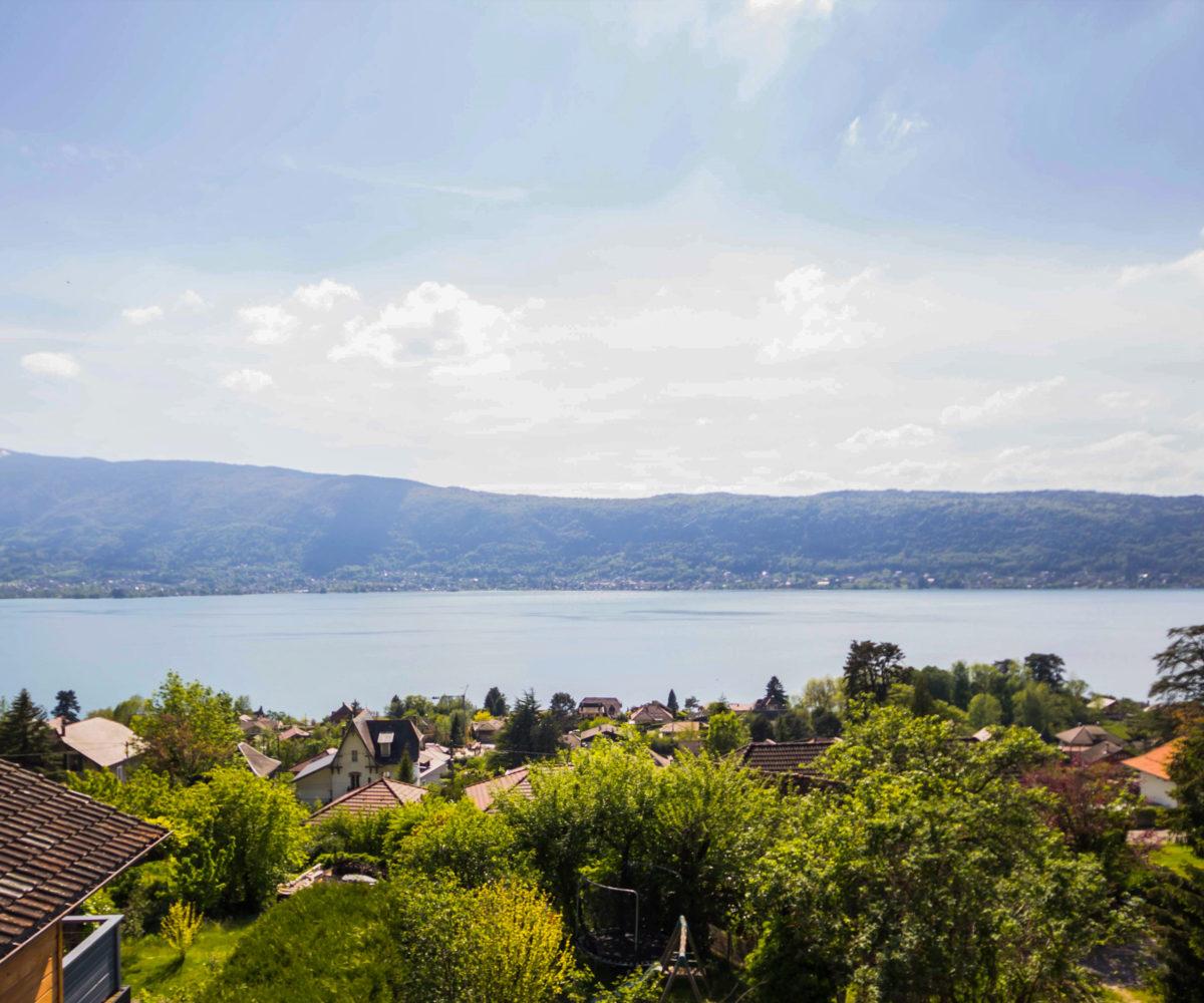 Veyrier Du Lac - Maison De Village Au Calme Avec Vue Lac Annecy