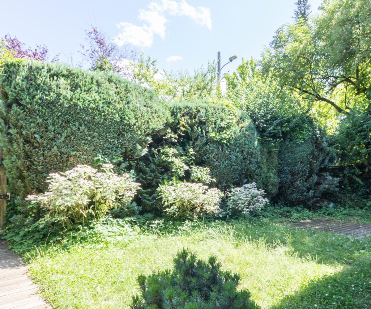 Annecy centre ville - maison avec jardin