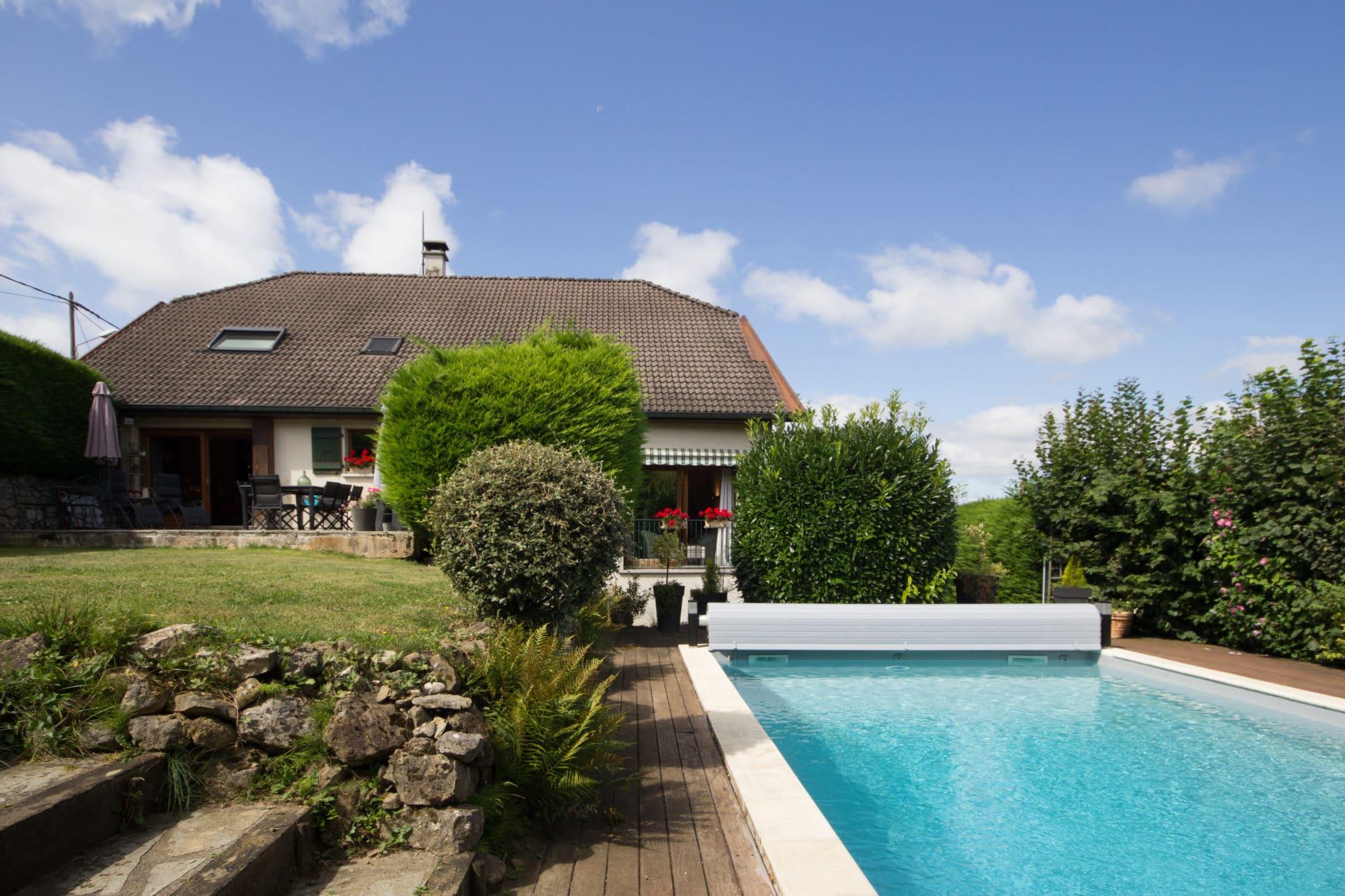ANNECY LE VIEUX - Maison au calme avec piscine chauffée