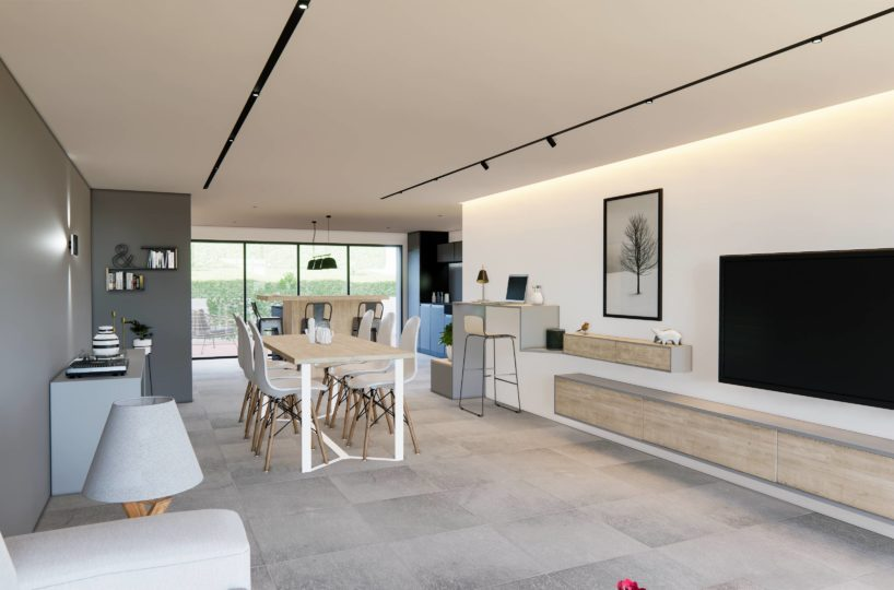 Villa neuve en triplex Talloires 3