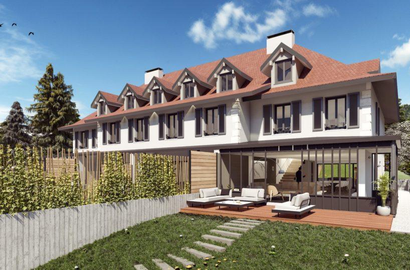 Villa neuve en triplex Talloires